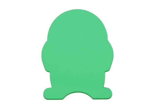 zielony pingwin piankowy, zdjęcie katalogowe