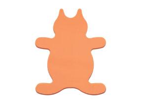 Piankowa, pomarańczowa zabawka, zdjęcie katalogowe