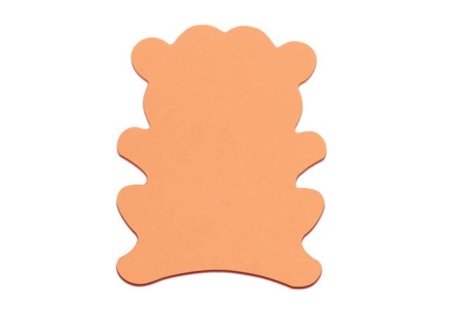 pomarańczowa, piankowa małpka, zdjęcie katalogowe