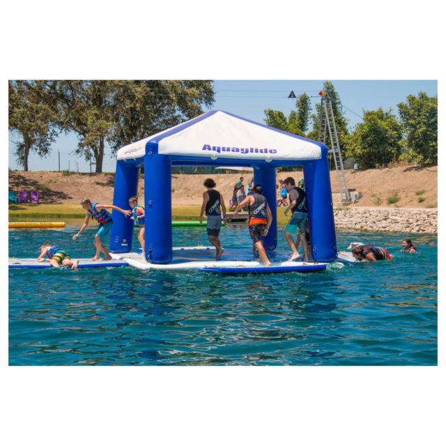 Event Tent - namiot na wodzie