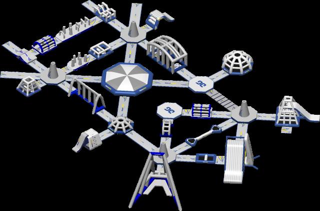 Circuit Moonson Aquapark Aquaglide